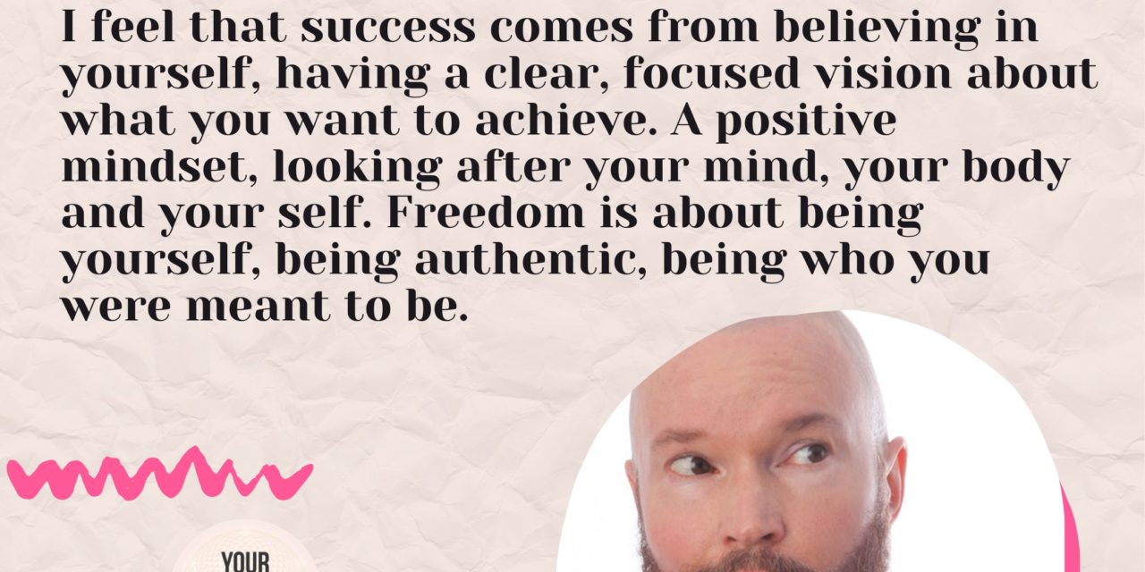 Getting inspired and creating freedom in your life with Jeff James